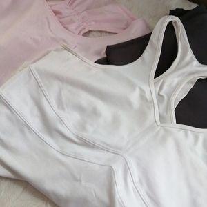EUC🤗Lululemon workout top..white